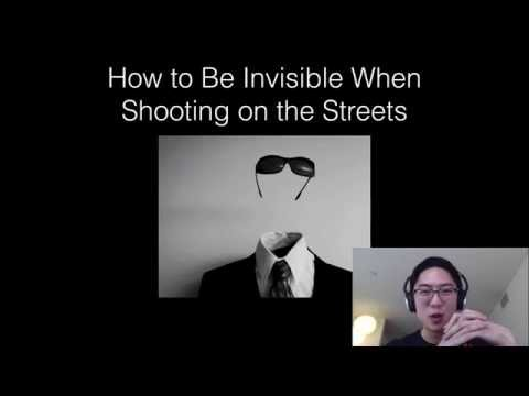 How to Be Invisible When Shooting Street Photography