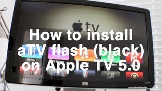 aTV Flash (black) on Apple TV 5.0 (iOS 5.1)