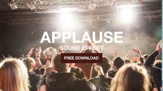 Applause Small Crowd - Sound Effect - Free Download