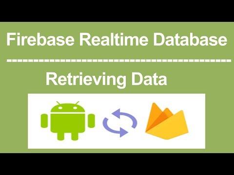 Firebase RealTime DataBase  -  How to Retrieve data