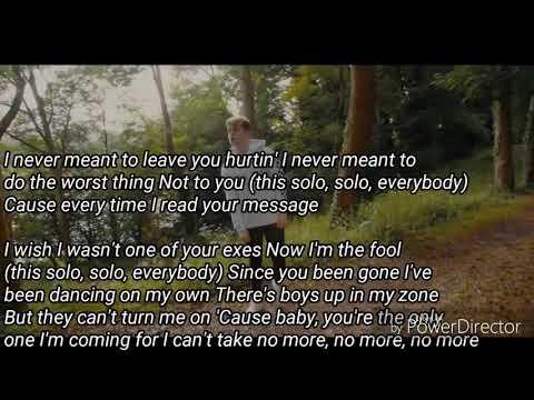 Solo - lyrics cover by the Boyband RoadTrip