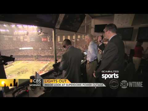 Super Bowl XLVII Blackout - 60 Minutes Sports - CBS News Report - SHOWTIME