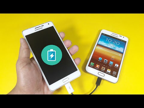 How To Make A OTG Power Sharing Charger For Mobile Phone