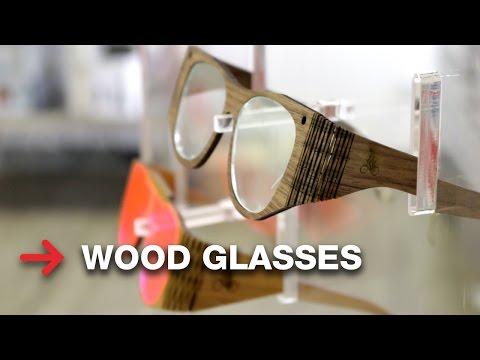 Wooden Glasses | Laser Cutting Wood | Trotec Veneer Woods
