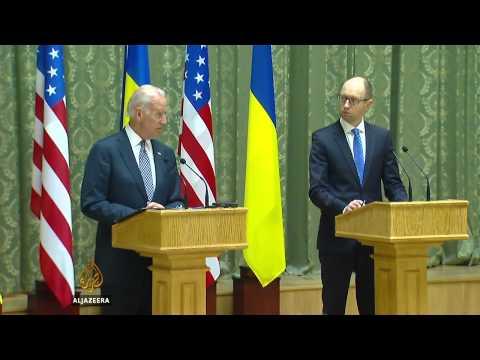 US urges Russia to disarm Ukraine activists
