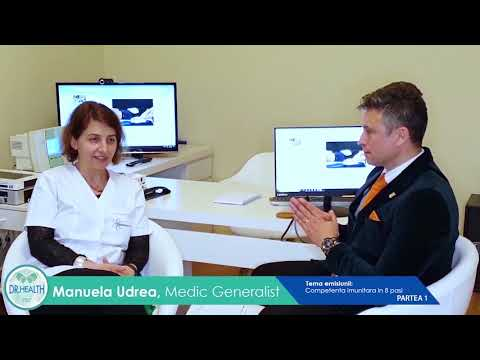 Episode 17 Dr. Health Part 2- Dr. Manuela Udrea - Immune Competence 4 Dimensions Stage
