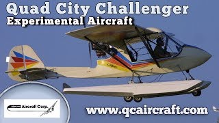 Challenger, Quad City Challenger two seat & single experimental and ultralight aircraft.