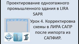Проектирование одноэтажного промышленного здания в Lira Sapr Урок 4