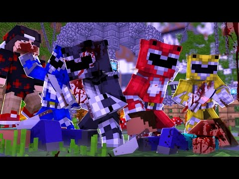 Minecraft: MURDER - POWER RANGERS ASSASSINOS!
