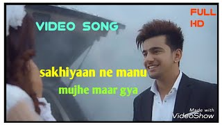 maninder butter,sakhiya ne manu mujhe mar gya,full HD video, by ATS. voice