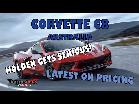 Corvette C8 In Australia: News And Price Update