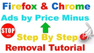 How To Remove Ads By Price Minus From Chrome / Firefox Step By Step -2016