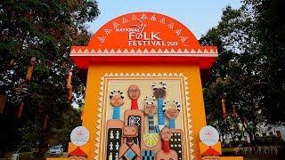 Sneak peak into the Village Life from National Folk Festival 2019