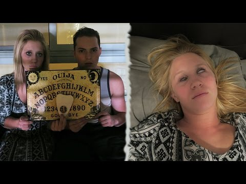 Thumbnail: THE OUIJA BOARD CHALLENGE! *DO NOT ATTEMPT* - SHE GOT POSSESSED!?