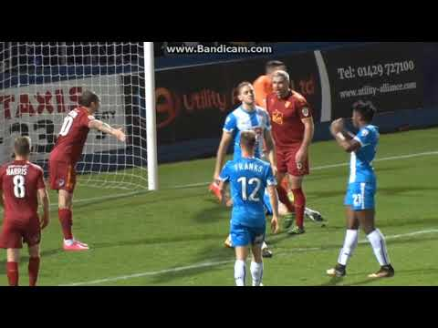 Hartlepool United 1-1 Tranmere Rovers - 24th October 2017