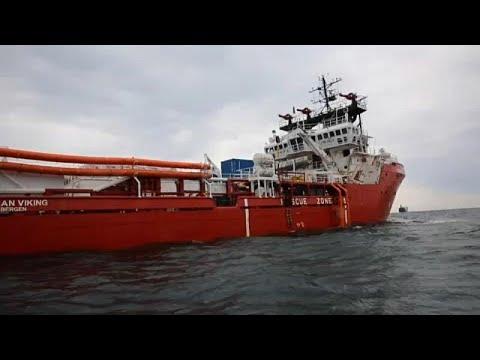 France 24:The Brief: Ocean Viking migrant rescue ship still stranded