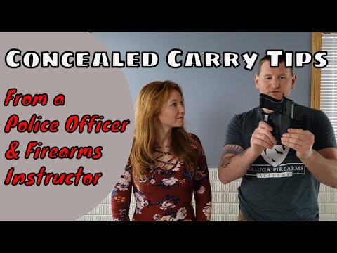Concealed Carry Tips | From a Police Officer/Firearms Instructor
