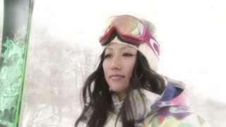 三星マナミ出演映像「雪ガール」
