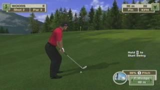 Tiger Woods PGA Tour 2010 Gameplay (Wii)