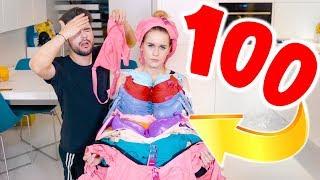 100 WARSTW STANIKÓW! *nigdy więcej!*