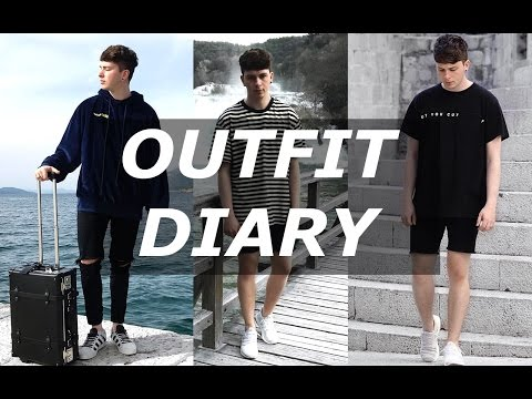 Outfit Diary | What I Wore in Croatia | Gallucks