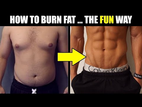Thumbnail: 8 WAYS TO BURN FAT FAST (that are actually FUN!) | How to LOSE Weight FAST