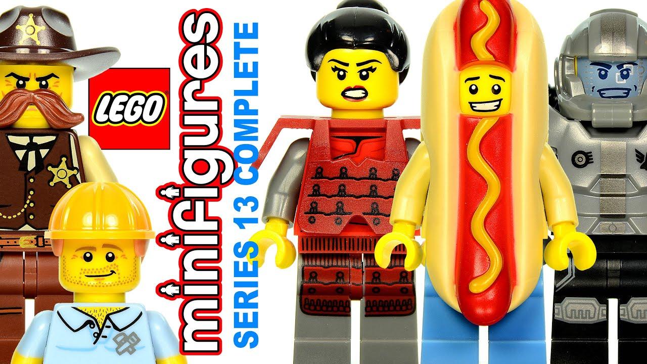 - Series 13 New /& Sealed! SAMURAI LEGO MINIFIGURES 71008