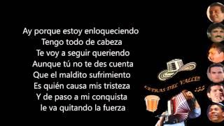 Todo de Cabeza - Kaleth Morales (Letra) thumbnail