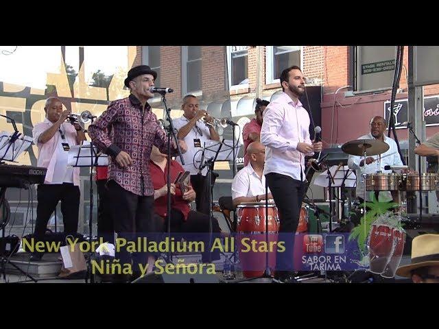 New York Palladium All Stars - Cantan Niña y Señora Jeremy - Complicacion Frankie - #jcjazzfest