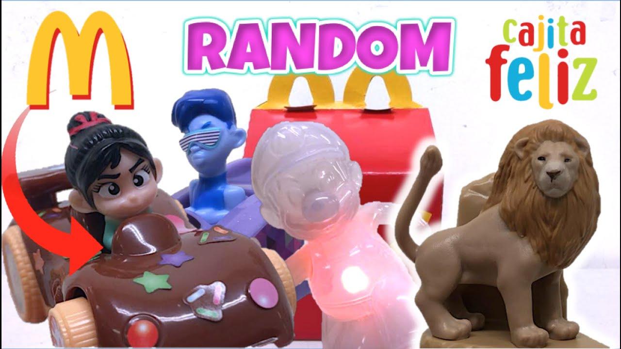 Caita Feliz RANDOM #1 - Colecciones del Pasado (Mario Bros, Rey León, Wifi Ralph) McDonalds Juguetes