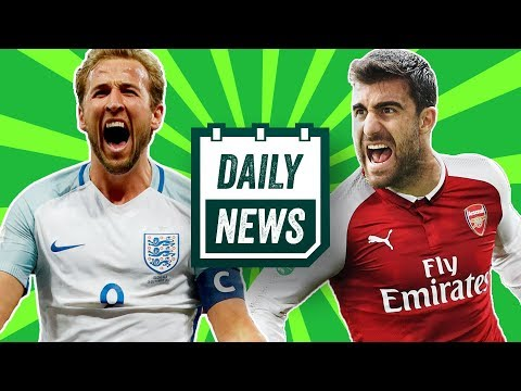 WORLD CUP 2018: England SHOCK squad announcement + TRANSFERS as Arsenal raid Bundesliga! Daily News