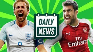 WORLD CUP 2018: England SHOCK squad announcement + TRANSFERS as Arsenal raid Bundesliga! Daily News