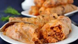 Pasus Tolma - Пасуц Толма - вегетарианское блюдо