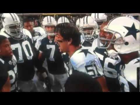 Keith Brooking (Dallas Cowboys) Pregame Ritual