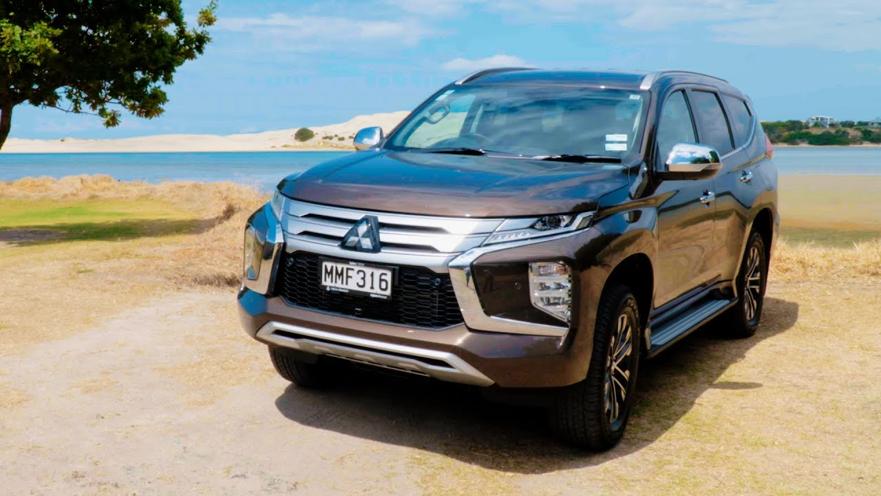 New Suv Test Video 2020 Mitsubishi Pajero Sport Vrx Youtube