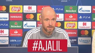 Erik ten Hag over Ajax - Lille: 'Thuis resultaat halen om door te gaan'