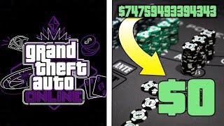 GTA 5 Casino DLC! Betting ALL my Money at the CASINO! Casino DLC Showcase
