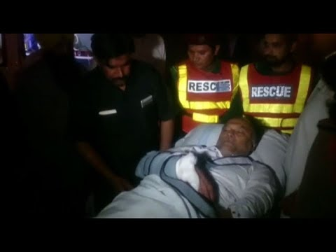 Pakistan interior minister in hospital after being shot