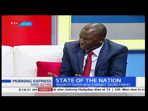"""We can not tire unemployment to President Uhuru Kenyatta's legacy"" Oliver Kipchumba-Advocate"