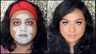 EVERYDAY MORNING SKIN CARE ROUTINE FOR DARK PIGMENTED OILY /COMBINATION SKIN | EASY & AFFORDABLE