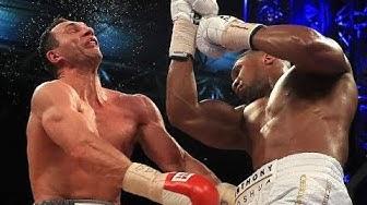 THE KNOCKOUT OF Wladimir Klitschko | Anthony Joshua vs  Wladimir Klitschko 11th round|
