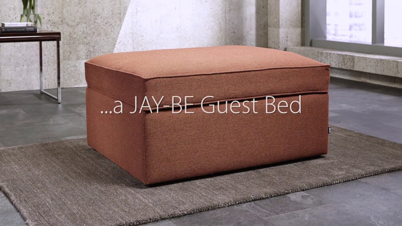 JAY-BE Footstool Guest Bed | Deconti UK & JAY-BE Footstool Guest Bed | Deconti UK - YouTube islam-shia.org