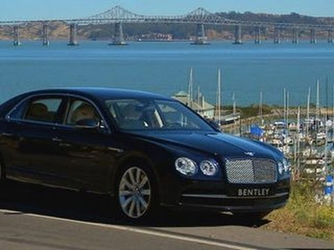 CNET On Cars – 2014 Bentley Flying Spur: One big car, one big engine