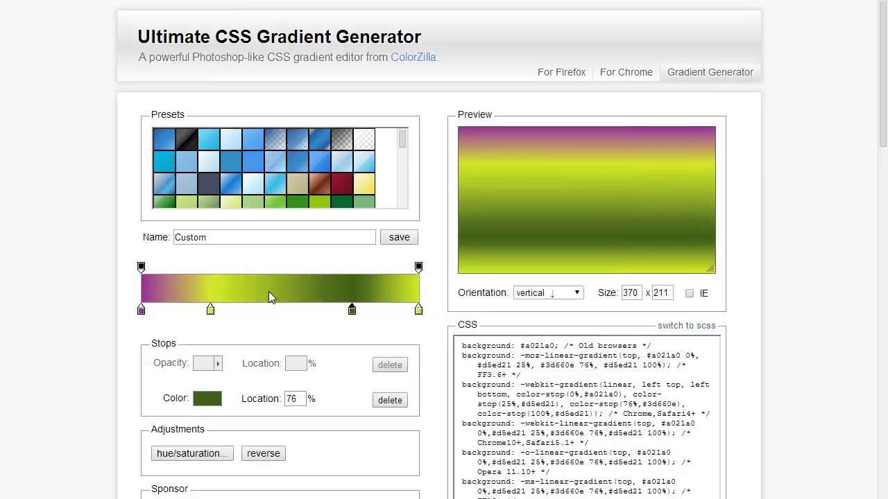 Ultimate CSS Gradient Generator Tutorial - YouTube