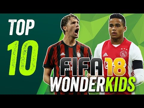 FIFA 18: The Top 10 Best Hidden Wonderkids Under 10 Million!