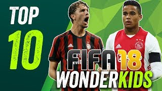 FIFA 18: The top 10 best hidden wonderkids under 10 million!