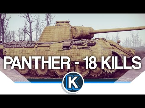 War Thunder | Panther A | 18 Kills in this Beast!