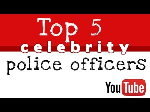 Top Celebrities Who Serve As Police Officers  Top 5 Celebrity Cops Famous Cops