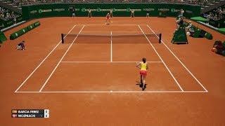 Georgina García Pérez vs Caroline Wozniacki - AO International Tennis PS4 Gameplay