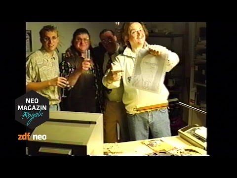 MSDOS Manfred und das William KohlFoto  NEO MAGAZIN ROYALE mit Jan Böhmermann  ZDFneo